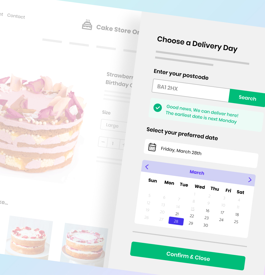 Delivery Date App