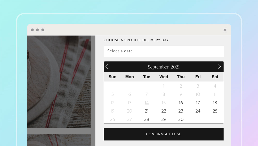 Shopify Delivery & Date App