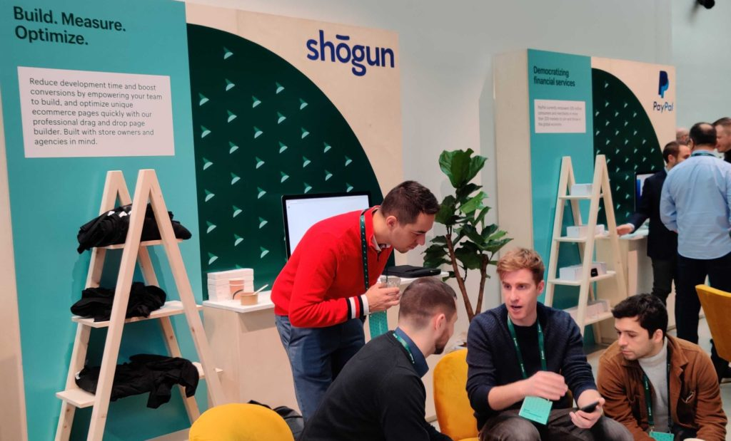 Shopify Pursuit - Shogun in action